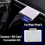 Адаптер Camera connection kit. USB & SD card